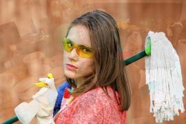 Las tareas domésticas diarias, una fuente oculta de contaminación del aire