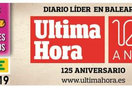 El 125 aniversario de Ultima Hora llega al cupón de la ONCE