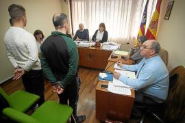 Visto para sentencia el juicio contra dos hombres detenidos por el traslado de 30 kilos de hachís en Sant Antoni