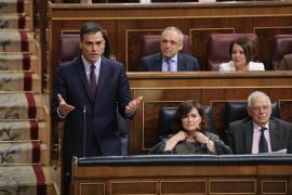 Sánchez no aclara a Rivera en el Congreso si negociará con los independentistas y si los indultará