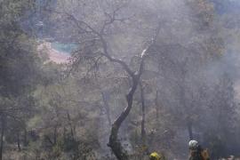 Controlado el incendio en Benirràs