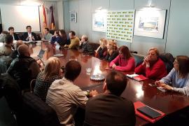 El PP balear se reúne con los representantes del Tercer Sector.
