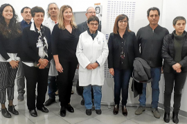 Visita al servicio de resonancia magnética del Hospital de Manacor