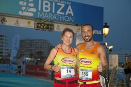 López y Serrano, embajadores del 42k Relay