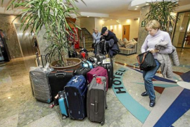 Caen las pernoctaciones hoteleras en Baleares