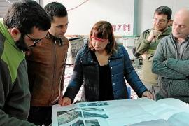 BINIFALDOLa vicepresidenta Bel Busquets y el conseller de Medi Ambient, Vicenç Vidal.