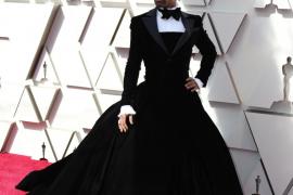 Los hombres se quitan los prejuicios en la alfombra roja de los Oscar