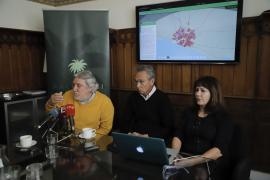alma XXI durante la presentación de la Carta Histórica de Palma