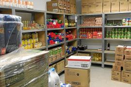 Ibiza responde a Cáritas con cerca de 1.500 kilos de alimentos en una semana