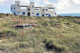 Acordonan dos pozos en Formentera tras la voz de alerta de varios vecinos
