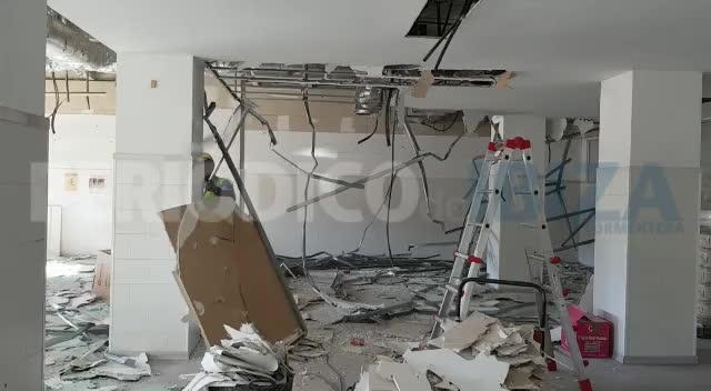Los operarios ya trabajan en la reforma de la planta baja y el sótano del antiguo Can Misses