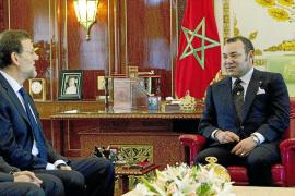 Rajoy se presenta en Rabat como «amigo» y ofrece una relación «fluida»