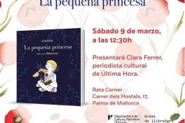 Presentación del libro 'La pequeña princesa' de Elena Medel en Rata Corner