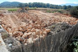 Sant Antoni abre un expediente por extraer piedras de forma ilegal en Cap Negret
