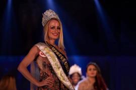 La ibicenca Emma Torres, ganadora del certamen Empress Universe 2018
