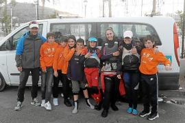 La flota ibicenca, rumbo a Mallorca