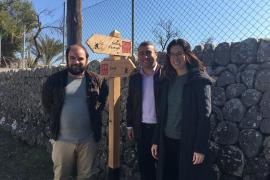 Antoni Frontera, Virgilio Moreno y Sandra Espeja