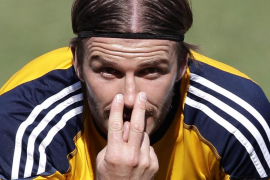 David Beckham amplía por dos años su contrato con Los Angeles Galaxy