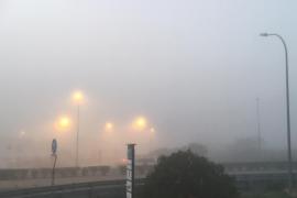 La niebla provoca incidencias en dos vuelos entre Ibiza y Palma