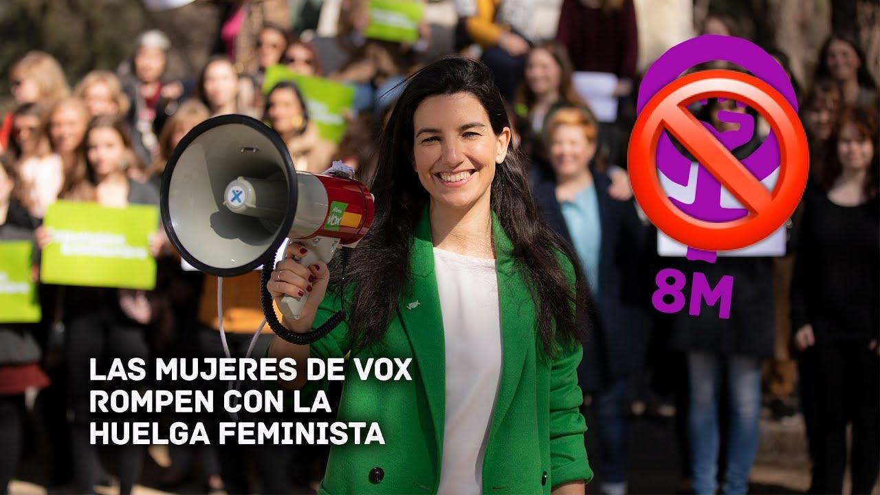 Las mujeres de Vox no irán a la huelga del 8M porque «denigra»