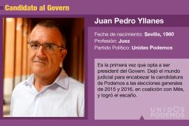 Juan Pedro Yllanes, el juez que quiere ser president del Govern