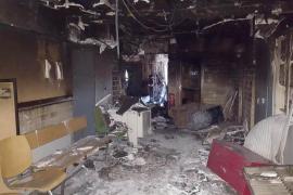 La «totalidad» de expedientes del Juzgado 1 de Ibiza resultaron afectados por el incendio de enero