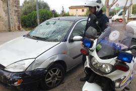 El coche que causó el accidente