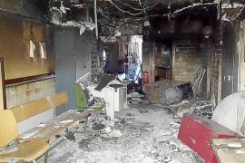 El Gobierno desconoce si el incendio que afectó miles de expedientes fue «provocado»