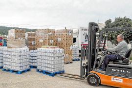 Cáritas recibe 23,7 toneladas de alimentos de fondos europeos