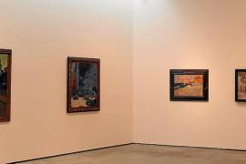 La Sala 1 de Es Baluard con la muestra de homenaje a Pere A. Serra