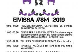 La Comisión 8M Ibiza pide que la huelga no se convierta en un acto preelectoral