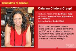 Catalina Cladera, una 'poblera' de raza y de carácter que aspira a presidir el Consell de Mallorca