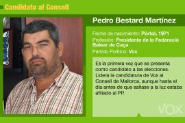 Pedro Bestard, un cazador para presidir el Consell de Mallorca