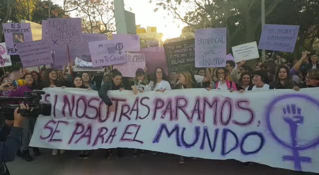 Unas 4.000 personas claman en Ibiza que «si las mujeres paran, se para el mundo»