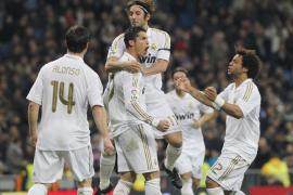 El Madrid encuentra su bálsamo