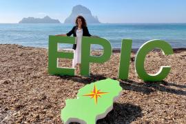 EPIC pide que haya servicio de limpieza de playas en Sant Josep todo el año