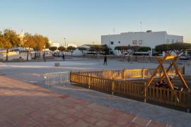 El PP de Sant Josep se compromete a remodelar la plaza de Sant Jordi la próxima legislatura