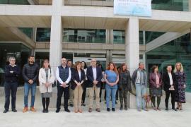Las instituciones de las Pitiusas rinden homenaje a las víctimas de los atentados del 11M