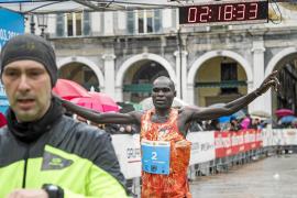 Poder africano en el Ibiza Marathon