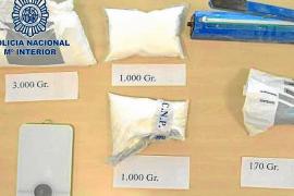 Un británico cazado en Ibiza con dos kilos de ketamina se enfrenta a 8 años de cárcel
