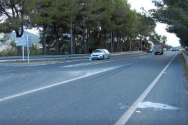Detenidos tras golpear a un motorista con un coche robado y dejarlo malherido