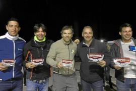 Lección del formenterense Juan Rodríguez en el Hispania Rally 2019