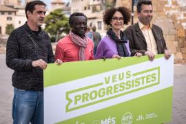 Integrantes de la candidatura Veus Progressites.