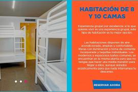 El Consell expedienta al albergue juvenil de Sant Antoni por 'venderse' como hotel