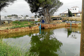 Sistema de drenaje en es Clot
