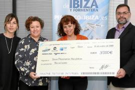 3.000 euros para seguir cuidando el medioambiente de las Pitiusas