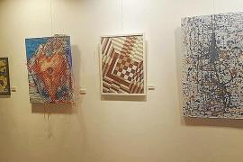 Más de 30 artistas de AMAE llenan de arte el Far de Ses Coves Blanques de Sant Antoni