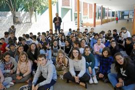 Mural de Miró en La Salle