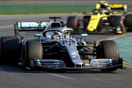 Lewis Hamilton, durante la sesión de clasificación del Gran Premio de Australia