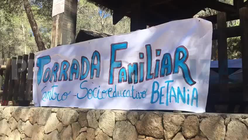 Decenas de familias participan en una jornada familiar organizada por Betania en Sant Llorenç